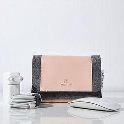 MMP 맥세이프&매직마우스 파우치-Pink