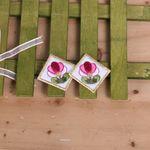 연꽃자수와펜(2개)