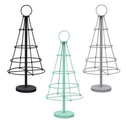 SILO Rack with 4 ring Black 4단 디스플레