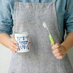 마메종 블루로즈 양치컵