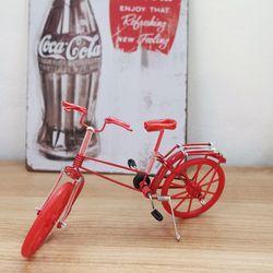 컬러 자전거 미니어쳐