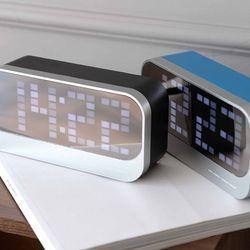 LED 거울 디지털시계(2color)