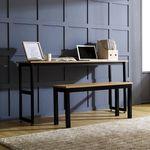 K3 스틸 1500 슬림테이블 책상 2인용세트(K3-415A)