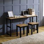 K3 스틸 1500 슬림테이블 책상 1인용세트(K3-415)