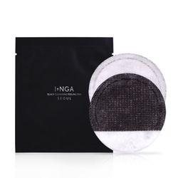 INGA 블랙 클렌징 필링 패드 (10매입)