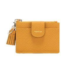 버밀란 베루 카드 지갑 - 옐로우