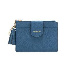 버밀란 베루 카드 지갑 - 블루