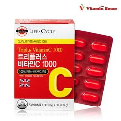 (L.C)트리플러스 비타민C1000 1박스(30정)