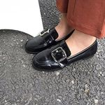 Cury buckle Loafer
