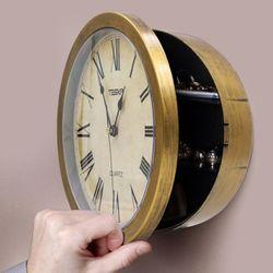 나만의 비밀금고 앤티크 벽시계 Hidden Wall Clock