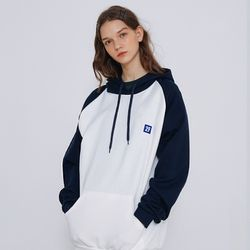2F  LOW RAGLAN HOOD [navy]