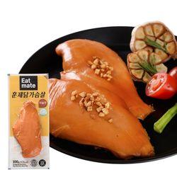 잇메이트 훈제 닭가슴살 마늘맛 100gX100팩(10kg)