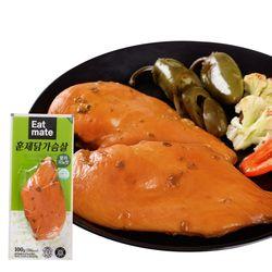 잇메이트 훈제 닭가슴살 할라피뇨맛 100gX30팩(3kg)