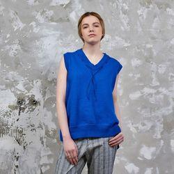 Singlet Knit Royal Blue