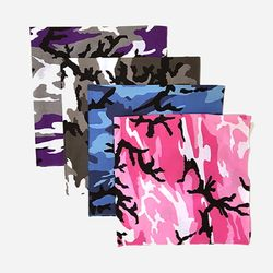 27INCH CAMO BANDANA (4 COLORS)