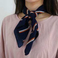 Classic stripe scarf