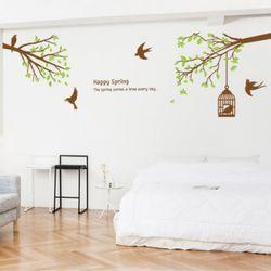 ic100-봄을기다리는나무그래픽스티커