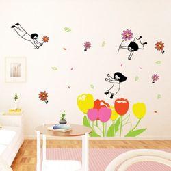 cc156-꽃들의요정그래픽스티커