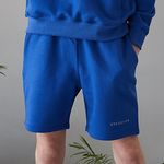 replaycontainer sweat shorts (cobalt blue)
