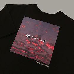 blackreplay campaigns tee (pink)