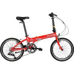 블루 에이틴 알루미늄 20인치 접이식 자전거 18단