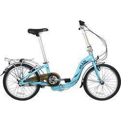 블루 뉴턴 A3 20인치 내장기어 3단 접이식 자전거
