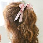 클래식 리본 머리끈