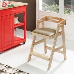 토리 원목 높이조절 의자 아동용의자 높이조절의자