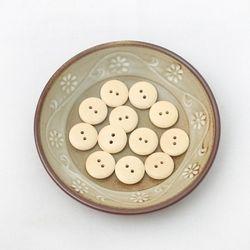 민무늬라운드단추(15개)[1015]