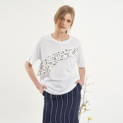 RUFFLE POINT HALF SLEEVES(WH)