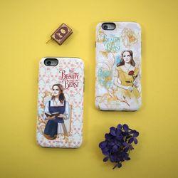 미녀와야수 컬러아트 범퍼 케이스 디즈니 정품
