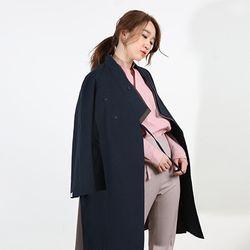 한복 두루마기 - 여성 트임 날개 코트