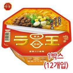 닛신 라오 미소라멘 된장맛 1박스(12개입) 컵라면