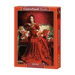 1500조각 미니퍼즐 - 빨간드레스의 여인(LD151370)