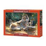 1500조각 미니퍼즐 - 화목한 늑대 가족 (LD151400)