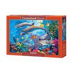 1500조각 미니퍼즐 - 행복한 바다속 돌고래(LD151486)
