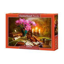 1500조각 미니퍼즐 - 음악과 꽃의 정물화 (LD151530)