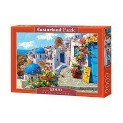 2000조각 직소퍼즐 - 봄이온 산토리니 풍경(LD200603)