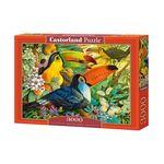 3000조각 미니퍼즐 - 꽃의 숲에 사는 새 (LD300433)