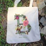 디즈니 포켓 에코백 - 밤비 botanical (주문인쇄)