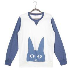 남자맨투맨 토끼 맨투맨 티셔츠 A0616006