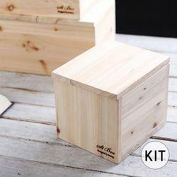[012] 두더지 원목 휴지통 만들기 DIY