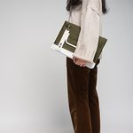 [CAMINO STREET] Clutch bag (Kaki)