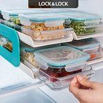 [무료배송] [락앤락] 냉장실 정리2단선반+밀폐용기5종세트