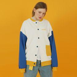 Pocket cardigan-white