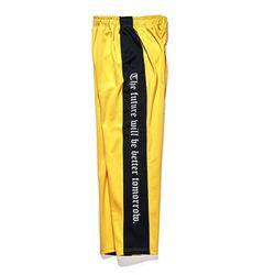Modern Line track pants Yellow