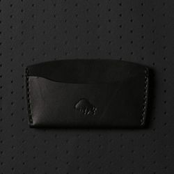 No.3 Wallet - Jet Black