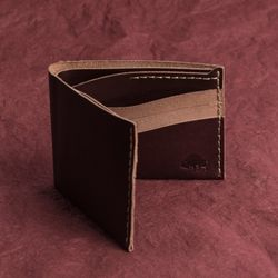 No.8 Wallet - Burgundy
