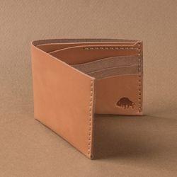 No.8 Wallet - Golden tan