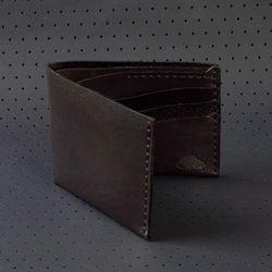 No.8 Wallet - Jet Black